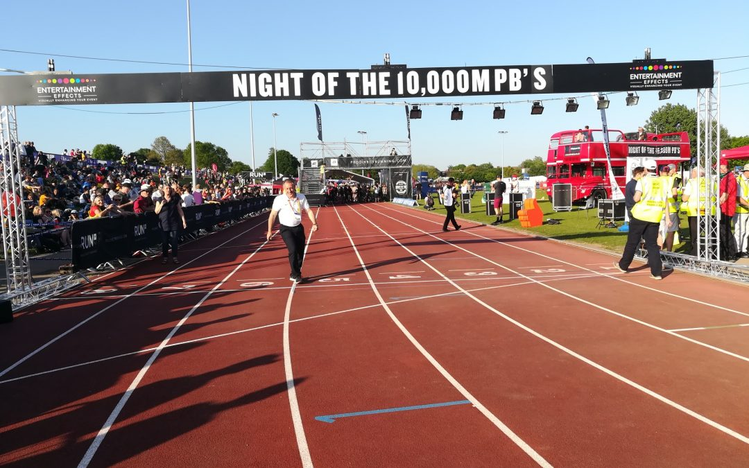Night of the 10,000m PBs